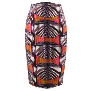 Stella Jean Multicolor Pattern Skirt