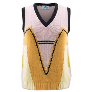 Prada Sleveless Knit Top