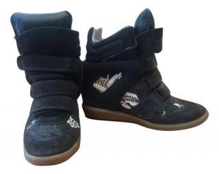 Isabel Marant Beckett Hawaiian Sneakers