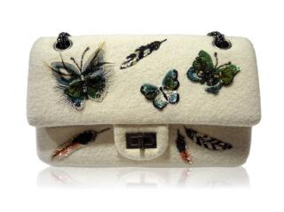 Chanel Butterfly Embroidered Flap Bag