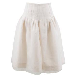 Brock White Skirt
