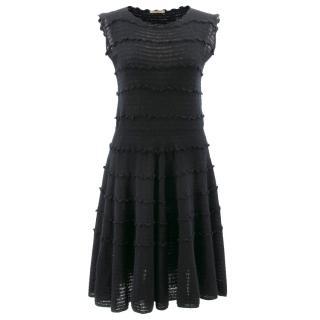 Bottega Veneta Black Knit Sleeveless Dress