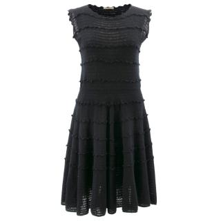 Bottega Veneta Black Knit Sleeveless Dress
