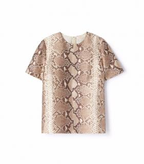 Tory Burch Snake Print Top