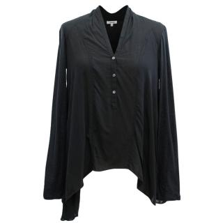 Helmut Lang Black Blouse