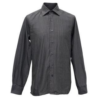 Christian Lacroix Men's Light Purple Pattern Shirt
