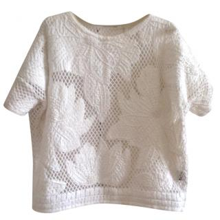 Isabel Marant Etoile Calice Embroidered Top