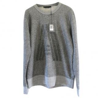 Alexander Wang Monogram Oversized Sweatshirt