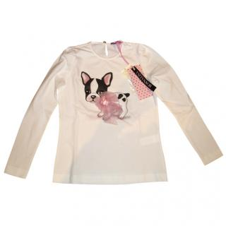 Monnalisa French Bulldog Top