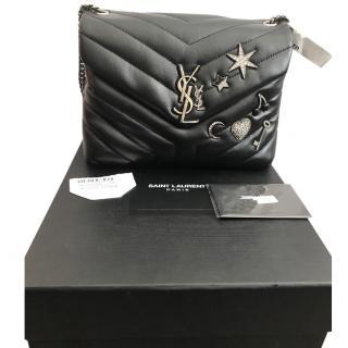 Saint Laurent Embellished Small College Shoulder Bag