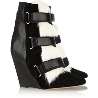 Isablel Marant Pierce Wedge Boots
