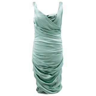 Dolce & Gabbana Seafoam Green Dress