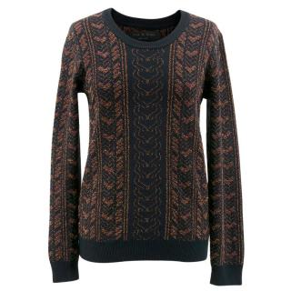 Rag & Bone Patterned Jumper