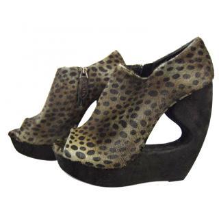 Alaia Fur High Heels