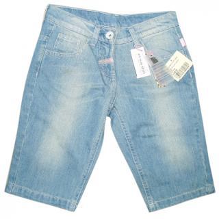 Roberto Cavalli Angles Denim Shorts