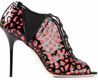 Jimmy Choo Tactic Lace-Up Cutout Bootie UK 6.5