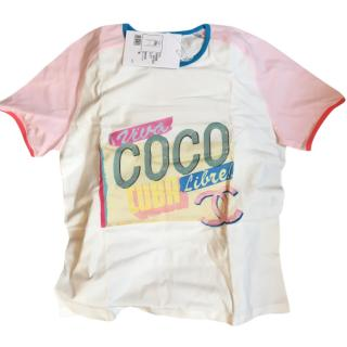 Chanel Coco Cuba T shirt size M new with tags and box