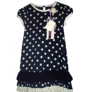 MONNALISA polka dot dress, 7 years