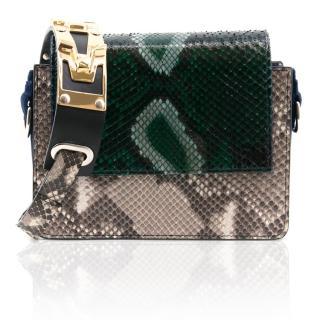 Amey Martin Caroline Python Mini Bag