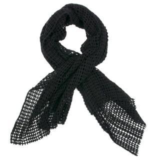 Bottega Veneta Black Cashmere Scarf