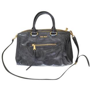 Miu Miu Black Vitello Bag