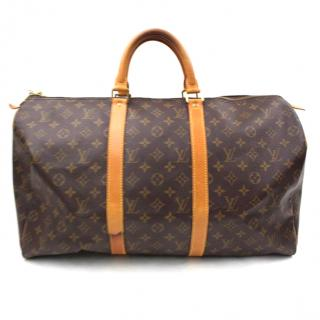 Louis Vuitton Keepall 50 Boston Bag