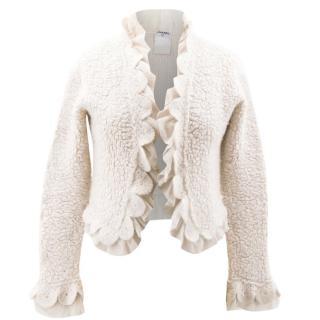Chanel Off-White Cream Jacket