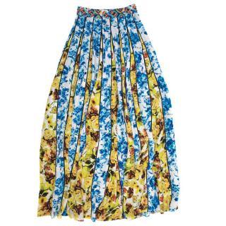 Rococo Sand Multicolor Pattern Skirt