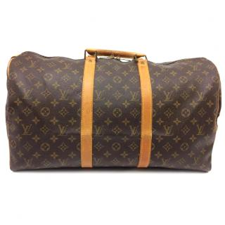 Louis Vuitton Monogram Keepall 50 10519 Travel Hand Bag