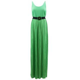 Alice + Olivia Green Maxi Dress