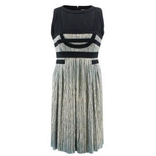 Jasmine Di Milo Black and Blue Dress
