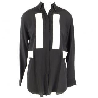 Givenchy Black and White Shirt UK 8