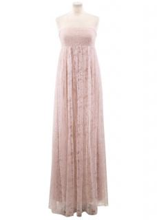 Vera Wang Pink Lace Dress