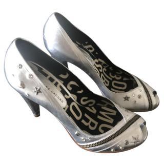 Marc by Marc Jacobs Metallic Heels