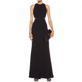 ALICE + OLIVIA  Adel Side Cutout Poly Dress
