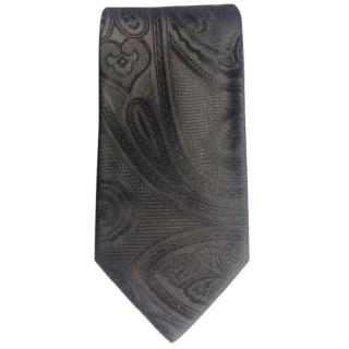 Hugo Boss Black Paisley Print Slim Tie BNWT
