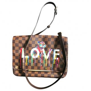 Louis Vuitton Artist Hand Painted Bag
