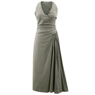 Bottega Veneta Olive Green Dress