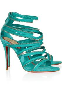 Christian Louboutin Zipped Heeled Sandals