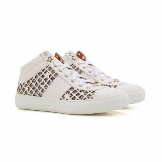 Jimmy Choo Women's White Sneakers