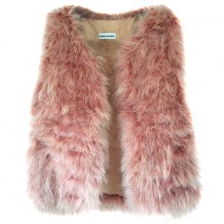 Sonya Rykiel Feather Vest