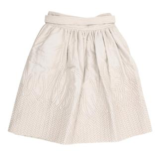 Bottega Veneta Silk Blend Skirt