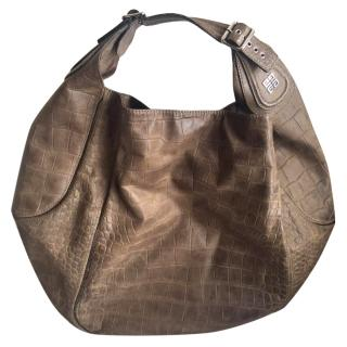 Givenchy Crocodile Print shoulder bag