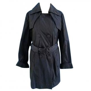 Moncler Ladies Classic Belted Trench Coat
