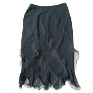 Emanuel Ungaro Silk Skirt