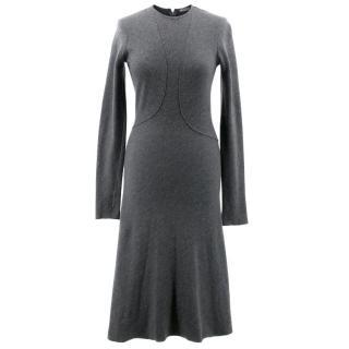 Bottega Veneta Charcoal Dress