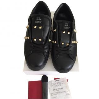 Valentino Rockstud Black Sneaker