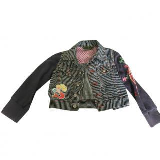 Oilily 'Mermaidia' denim jacket