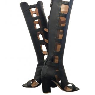 Laurence Dacade Black Cutout out Boots