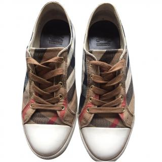 Burberry Check Trainers